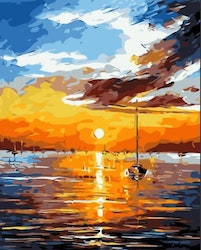 Paint By Numbers Sunset 40x50