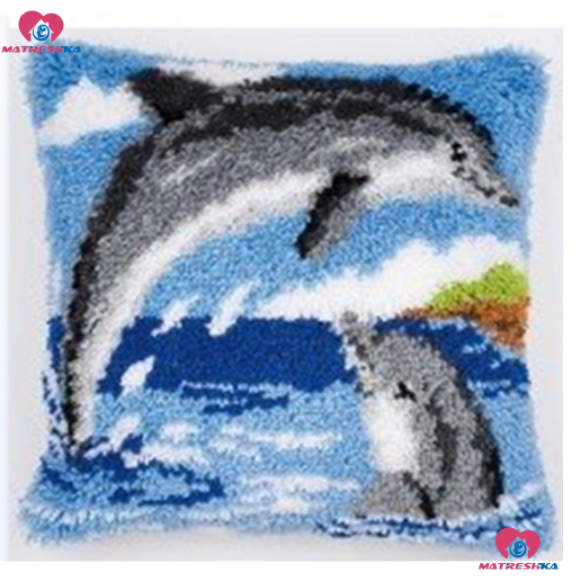 Ryakudde Delphins 43x43