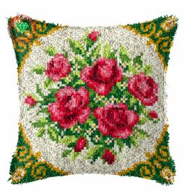 Ryakudde Flower Rose Handmade 43x43