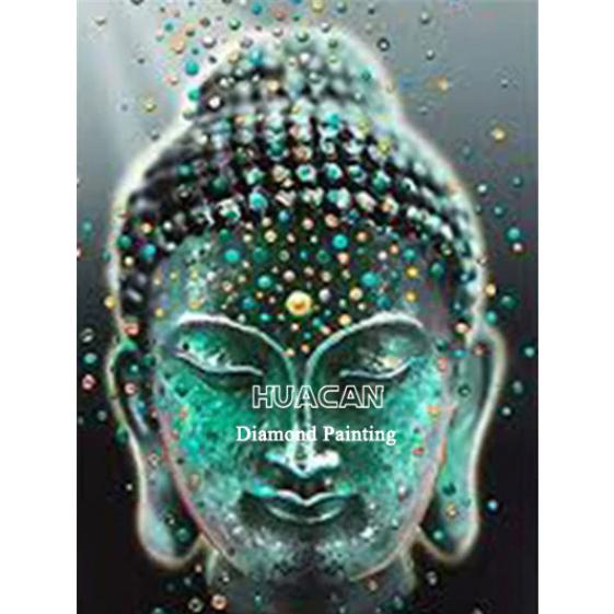 Diamanttavla Buddha 40x50