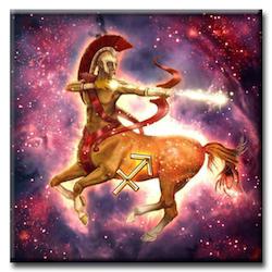 Diamanttavla Sagittarius 40x40