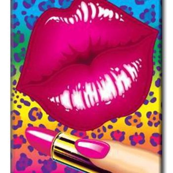 Diamanttavla Lipstick 40x50 - Leveranstid 1-3 Dagar