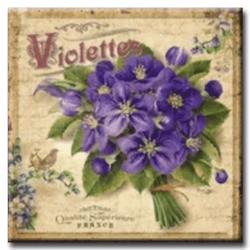 Diamanttavla Violettes 50x50