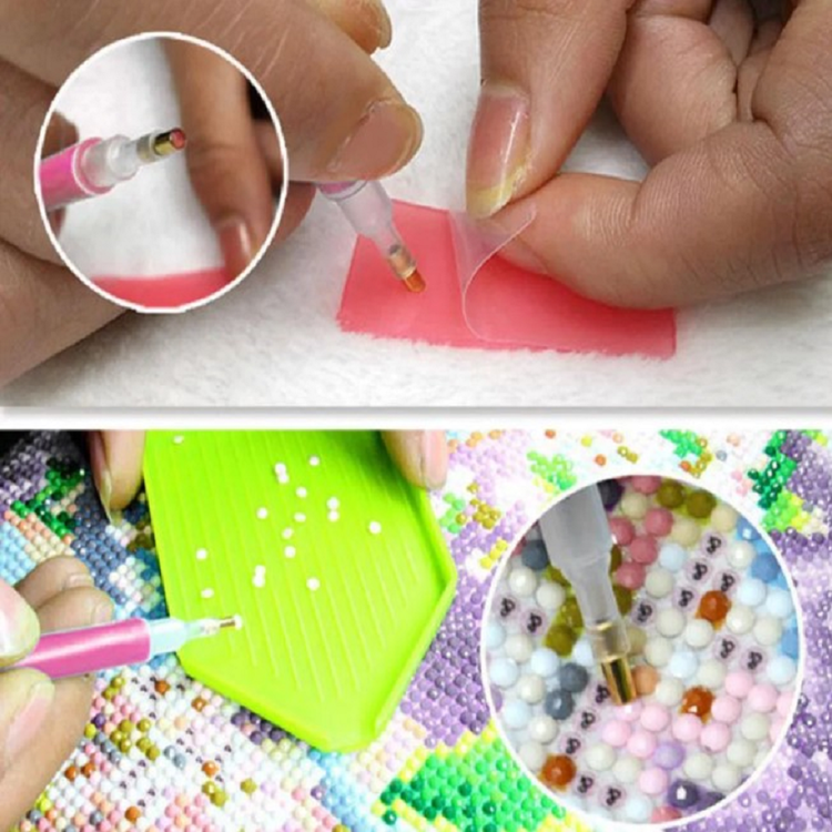 Diamanttavla Geisha Flower Umbrella 40x50
