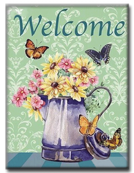 Diamanttavla  Welcome Butterflies 40x50