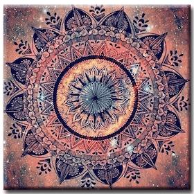 Diamanttavla (R) Mandala Amazing 50x50