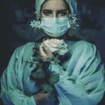 Diamanttavla Nurse 60x80
