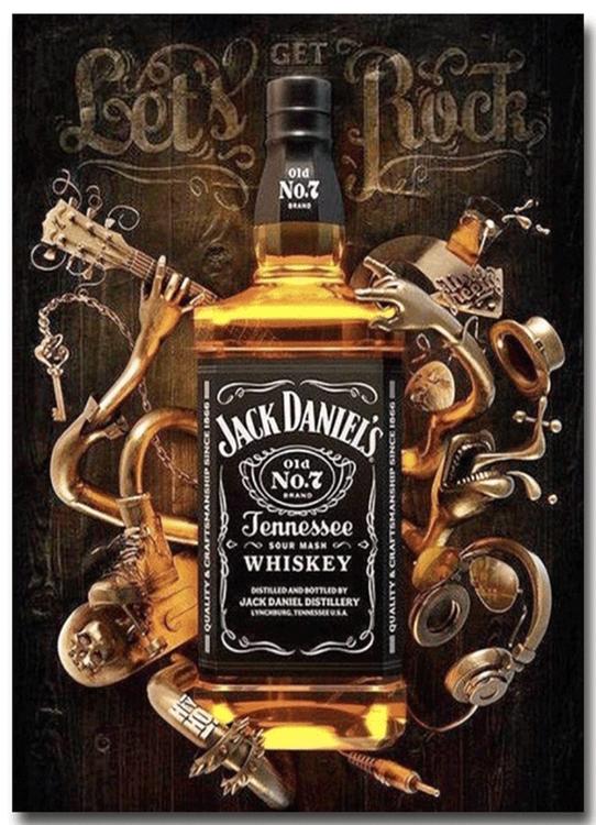 Diamanttavla Whiskey 40x50