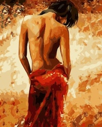 Paint By Numbers Woman Sensual 40x50