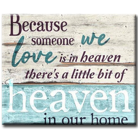 Diamanttavla Heaven In Our Home 50x70