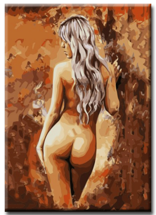 Paint By Numbers Woman Natural 40x50