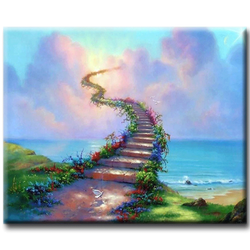Diamanttavla  (R) Stairways To Heaven 50x70