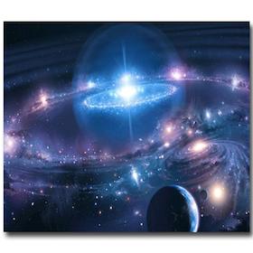 Diamanttavla Universum 40x50