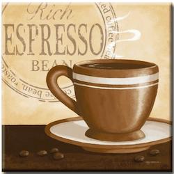 Diamanttavla Espresso 40x40