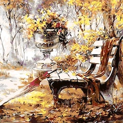 Paint By Numbers Autum 40x50