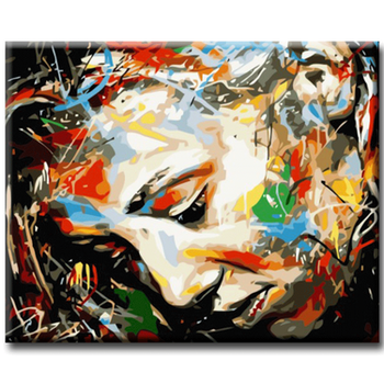 Paint By Numbers Tankar 40x50