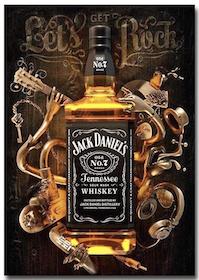 Diamanttavla Whiskey 50x70