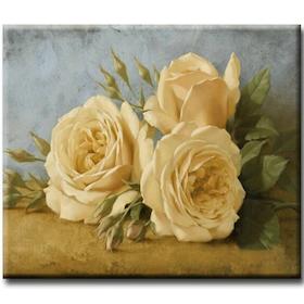 Diamanttavla Romance Roses 40x50
