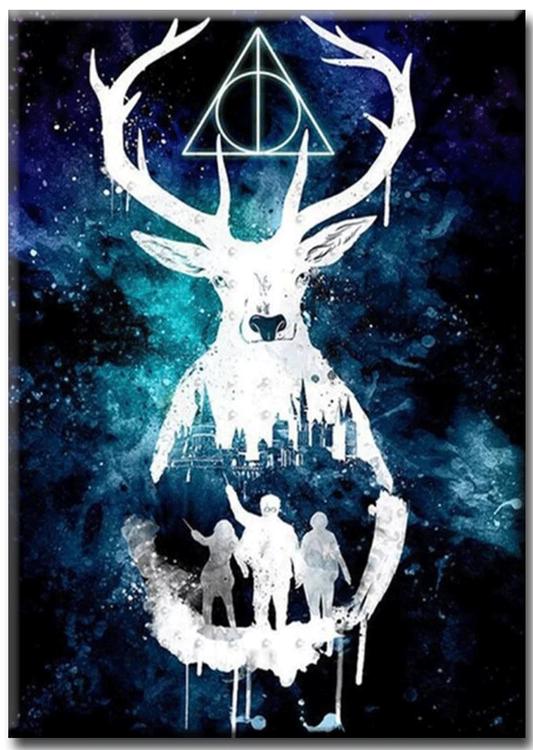 Diamanttavla Harry Potter 50x70 - Leveranstid 1-3 Dagar
