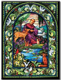 Diamanttavla Mosaik Nature 40x50