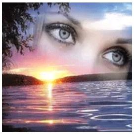 Diamanttavla Sunset Eyes 40x50 - Leveranstid 1-3 Dagar