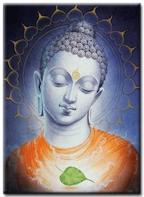 Diamanttavla (R) Buddha Leaf 40x50