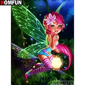 Diamanttavla Fantacy Fairy 40x50