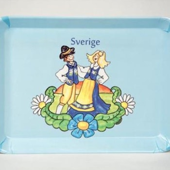 Bricka Sverige 45x3x29