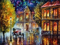Paint By Numbers Old City Color 40x50