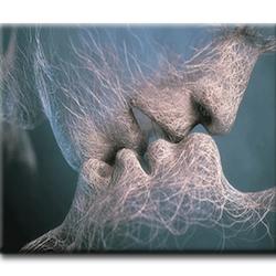 Diamanttavla Light Kiss 40x50