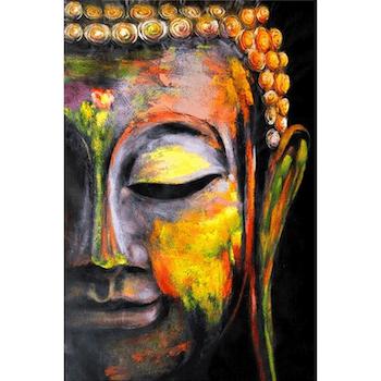 Diamanttavla Buddha In Peace 40x50 - Leveranstid 1-3 Dagar