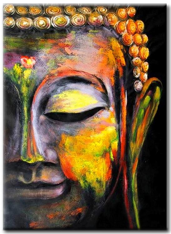 Diamanttavla Buddha In Peace 40x50