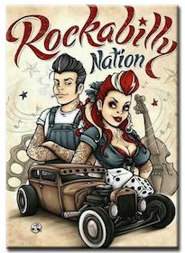 Diamanttavla Rockabilly Nation 40x50