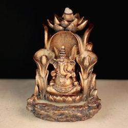 Ganesh Lotus Backflow incense burner