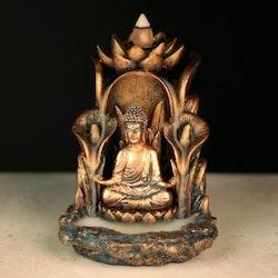 Thai Buddha Lotus Backflow Incense Burner
