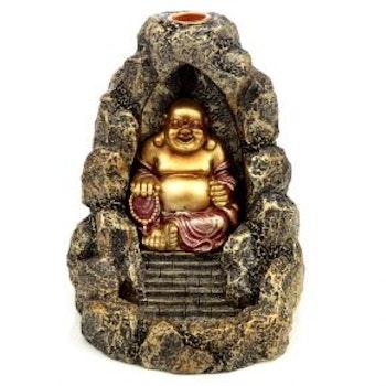 Chinese Buddha Backflow Incense Burner