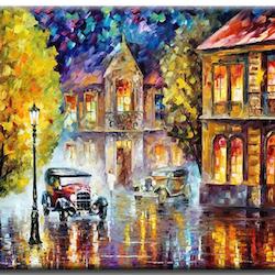Diamanttavla Old City Color 40x50