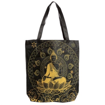 Thai Buddha Väska Med Dragkedja