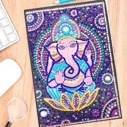 Skrivbok Olinjerad Ganesha 50 Sidor