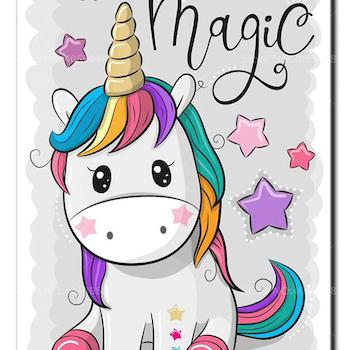 Diamanttavla (R) Unicorn Magic 30x40