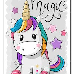 Diamanttavla Unicorn Magic 40x50