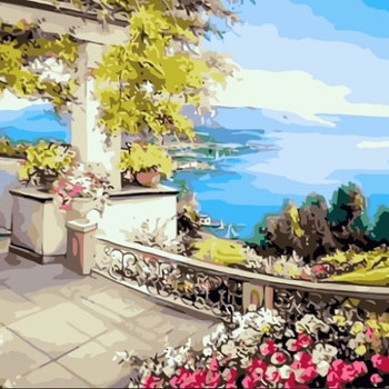 Paint By Numbers Ocean View 50x70