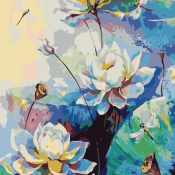 Paint By Numbers Meadow Flowers  50x70
