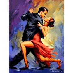 Diamanttavla Dance Couple 40x50