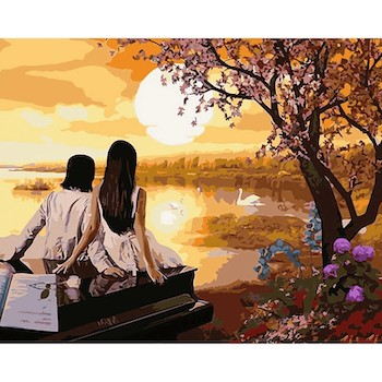 Paint By Numbers Summernight 40x50