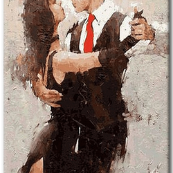 Paint By Numbers Romantic Dance 40x50