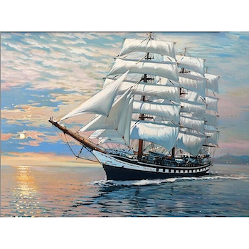 Paint By Numbers Sailor 40x50