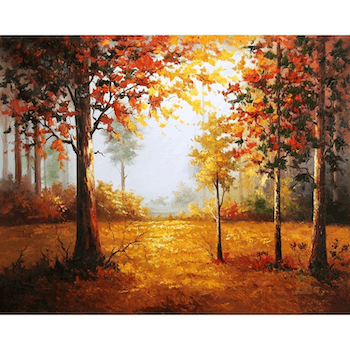Paint By Numbers Magic Forest 40x50