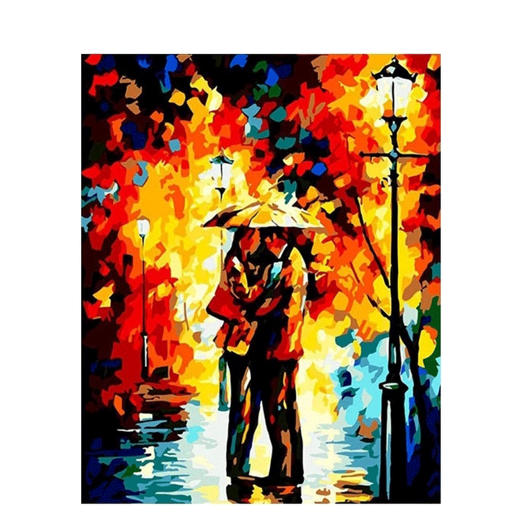 Paint By Numbers Color Lovers 40x50