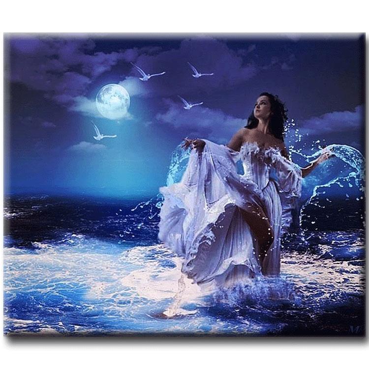 Diamanttavla Ocean Beauty 40x50